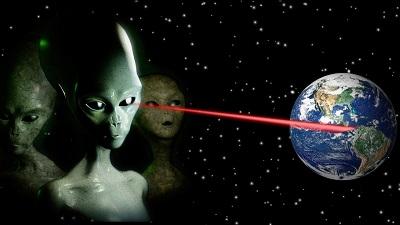 Инопланетяне питаются космическими лучами