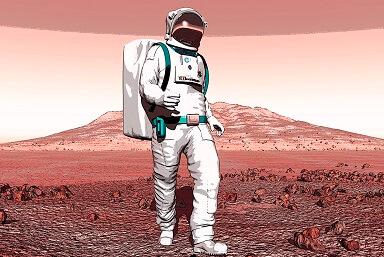 Ученые создали скафандр для будущих колонизаторов Марса