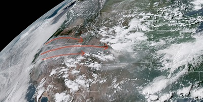 В Китае хотят управлять погодой со спутника