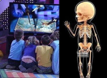 Телевизор разрушает кости
