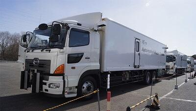 Японские ученные разработали беспилотные грузовики