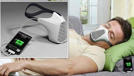 От энергии дыхания человека можно будет заряжать телефоны