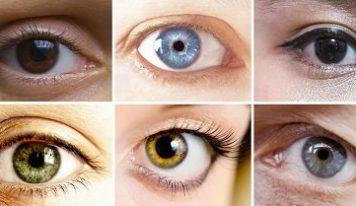 Что влияет на цвет глаз?