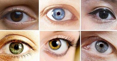Что влияет на цвет глаз