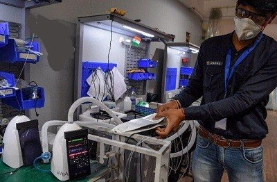Индусы изобрели бюджетный аппарат ИВЛ размером планшет