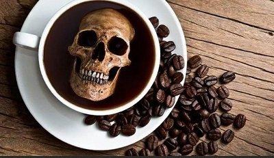 Кофе приносит организму больше вреда, чем алкоголь