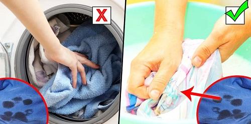 Не отстирывается полотенце — Что делать?