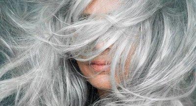 Седина волос - не показатель старения