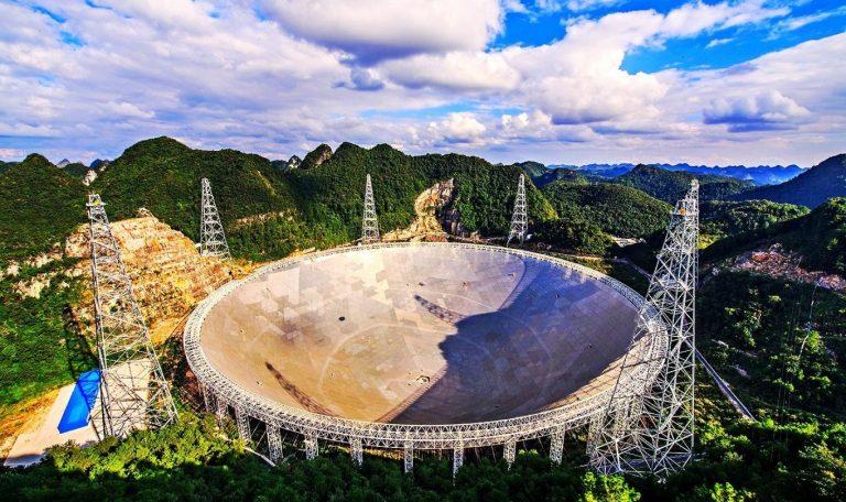Китай запустит в работу самый большой в мире телескоп для поиска внеземной жизни
