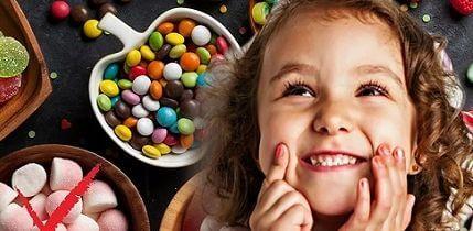 Если ребёнок будет есть много сладкого то