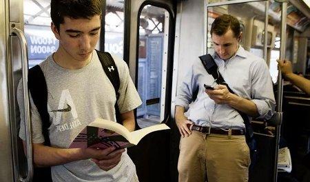 Почему вредно читать на ходу и в транспорте?